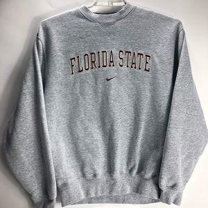 Nike Florida state FSU gray pullover sweatshirt
